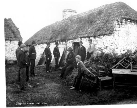 19th century eviction Ireland