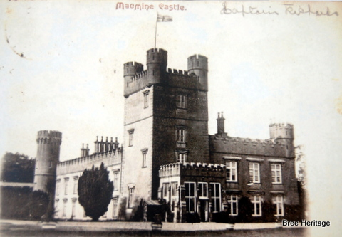 Macmine Castle in c. 1900