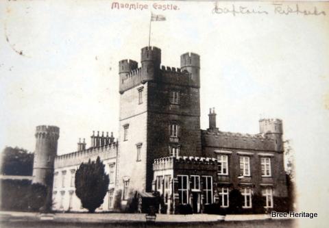 Macmine Castle in c. 1900