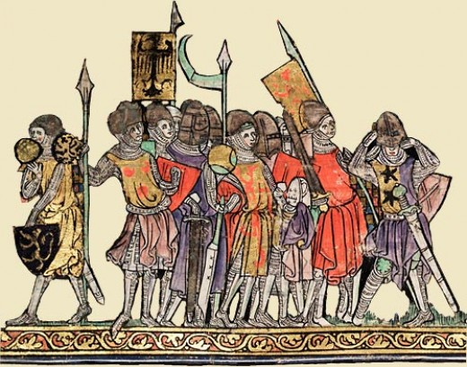 Anglo-Norman soldiers