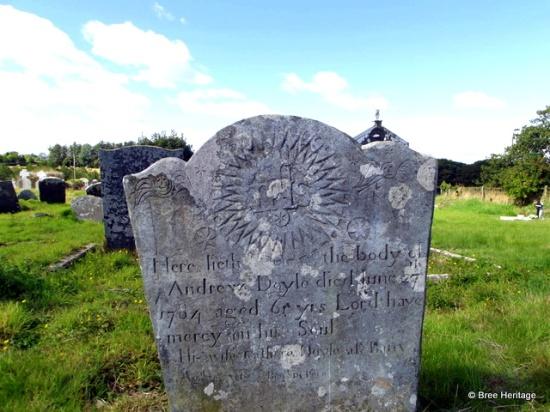 18th century headstone
